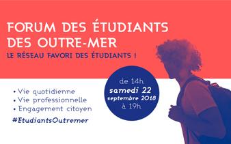 Retrouvez Naelan au Forum des étudiants des Outre-Mer, le 22 septembre 2018 à 14h