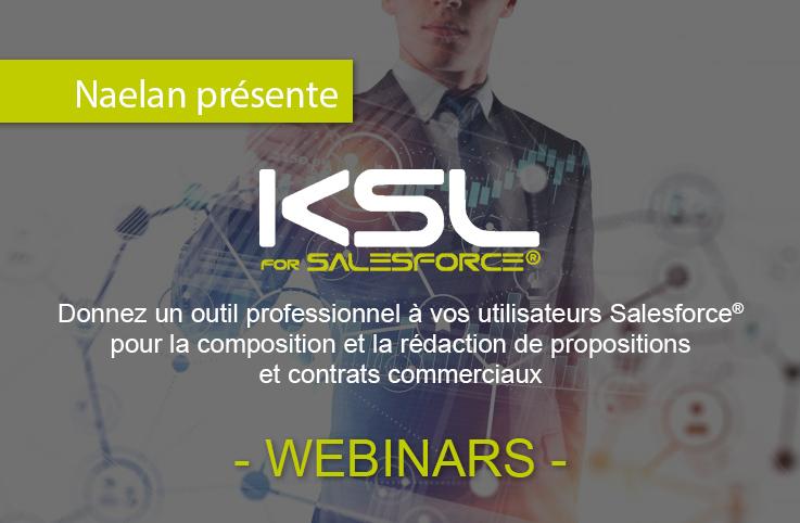 Webinars : Présentation de KSL for Salesforce