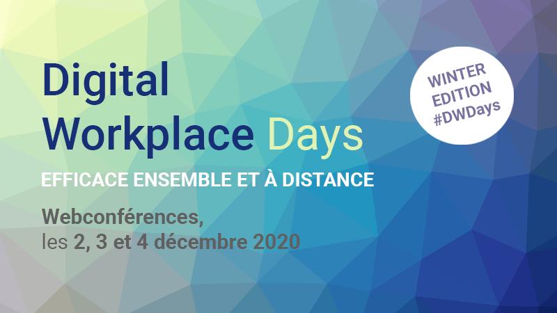Retrouvez Naelan aux Digital Workplace Days organisés par Jalios