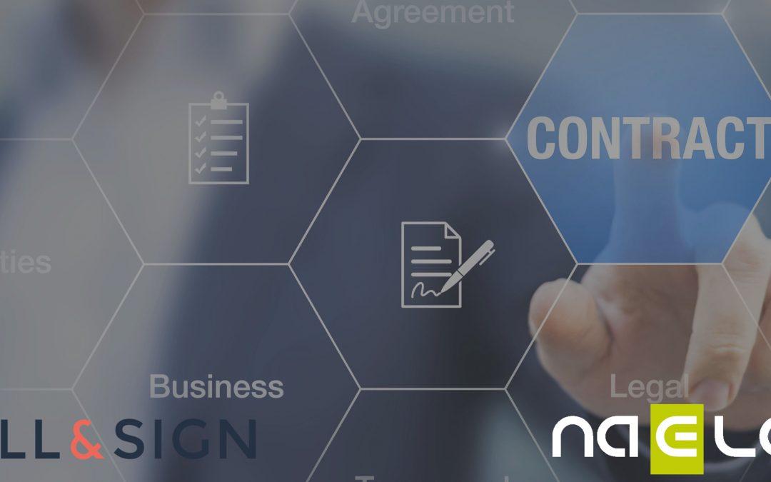 SELL&SIGN et NAELAN s'associent pour proposer une solution complète d'édition de contrats de bout en bout